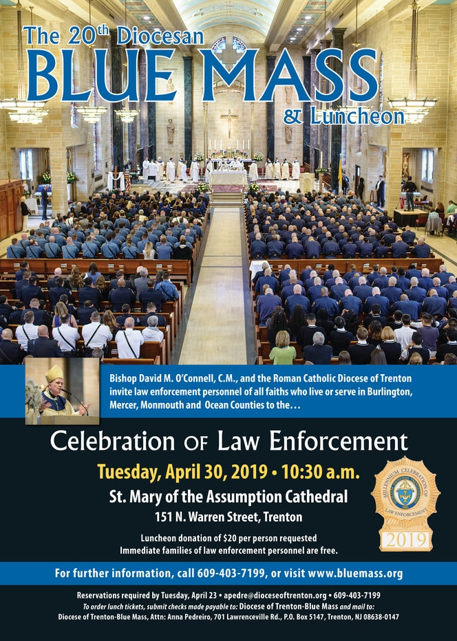20th Diocesan Blue Mass & Luncheon @ St. Mary of the Assumption Cathedral